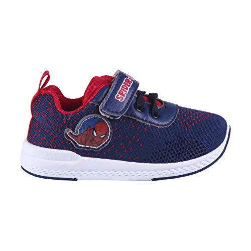 CERDÁ LIFES LITTLE MOMENTS, Zapatillas Deportivas Spiderman para Niños con Licencia Oficial Marvel, Azul, 28 EU