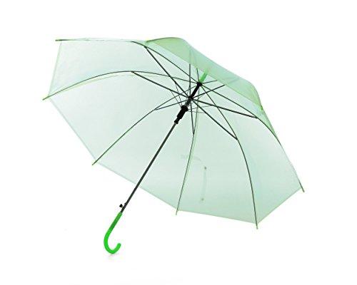 Paraguas Colorido Claro Unisexo Verde (Paquete de 50)