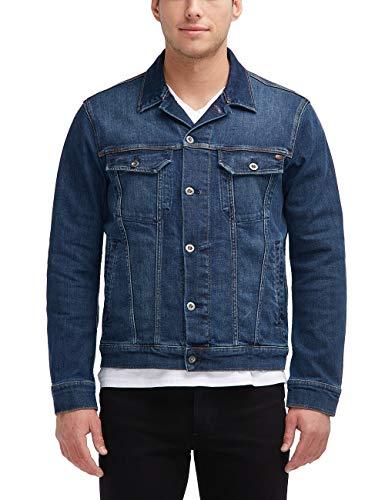 MUSTANG Herren Slim Fit Jeansjacke Jeans