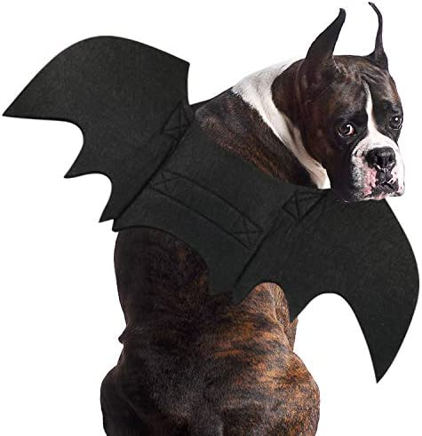 RYPET Dog Bat Costume Halloween Pet Costume Bat Wings Cosplay Dog Costume Cat Costume for Party product image