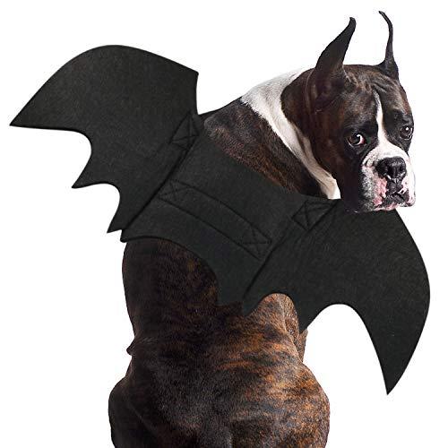 RYPET Fledermauskostüm für Hunde, Halloween-Kostüm, Fledermausflügel, Cosplay, Hundekostüm, Katzenkostüm für Party, XL