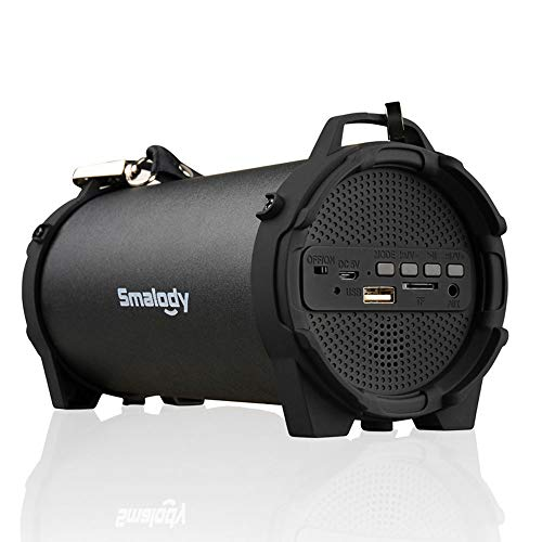 Portable Speaker,Smalody Speakers Bluetooth Wireless with 10W HD Sound and Bass,Built-in USB,TF Card Slot Mic for Party,Camping,Outdoor etc