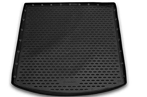 Element EXP.NLC.28.19.B13 Passgenaue Premium Antirutsch Gummi Kofferraumwanne - Land Rover Discovery Sport, SUV - Jahr: 14-20, schwarz, Adaptive Kofferaum Mit Schienen
