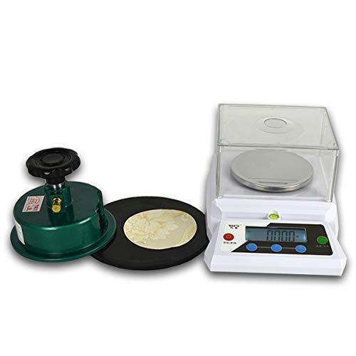 LYC Alta Precisión 0.01g Balanza Electrónica Gravímetro Textil Cuadrado Dechado Electrónico Balanza con Pantalla LCD De Cristal Líquido (Size : 310g/0.01g)