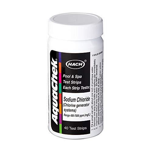 AquaChek 561161 Kit de Titration de titrateurs de sel WHT - 6 Bouteilles