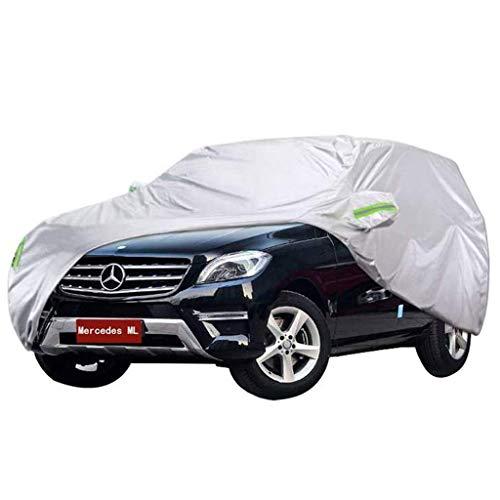 T-Day Fundas para Coche Mercedes Benz Serie ML Carcasa Especial Cubierta SUV de Tela Oxford Gruesa Protector Solar Interior para Exteriores (Tamaño : Mercedes-Benz ML350)
