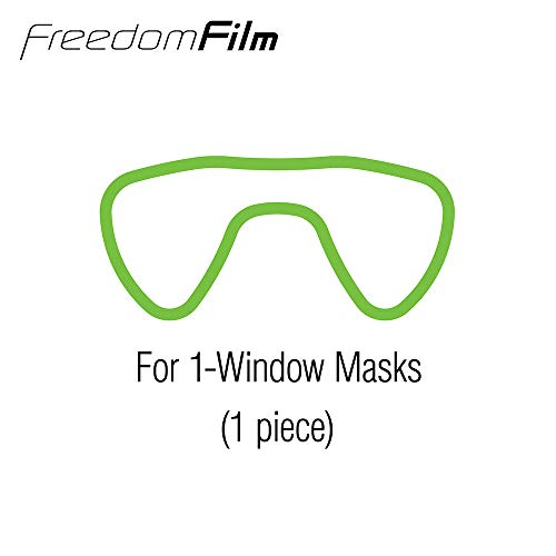 41lL0SBcxeL - TUSA Anti-Fog Freedom Film for all Scuba/Snorkeling 2-Window Masks
