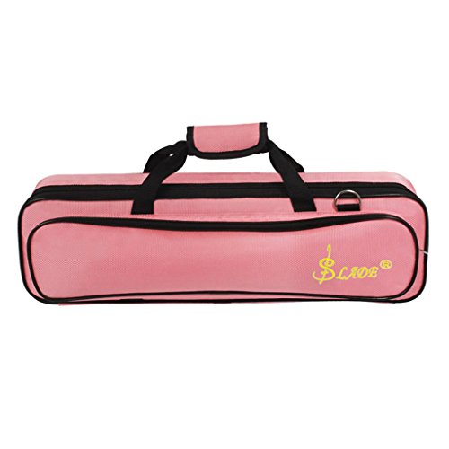 Tragbarer Koffer Querflötenkoff für Querflöten - Rosa