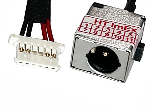 HT ImEx - Conector de fuente de alimentación DC Jack Jack hembra de carga, compatible con Acer Aspire R11 (R3-131T-C6W2), R11 (R3-131T-C74U), R11 (R3-131T-C7H3), R11 (R3-131T-C9TC).