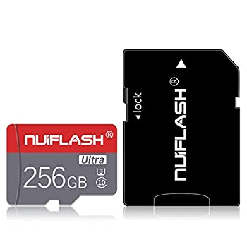 Micro SD Card 256GB Memory Card 256GB TF Card,Micro Memory Card Class 10 with A SD Card Adapter for Nintendo-Switch Tablet Computer,Android Cellphones,Camera 256GB …