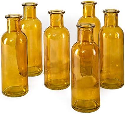 Bud Vases Apothecary Jars Decorative Glass Bottles Centerpiece for Wedding Reception Elegant product image