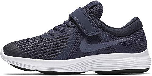 Nike Revolution 4 (PSV), Zapatillas de Running para Niñas, Azul (Neutral Indigo/Light Carbon/Obsidian 501), 29.5 EU