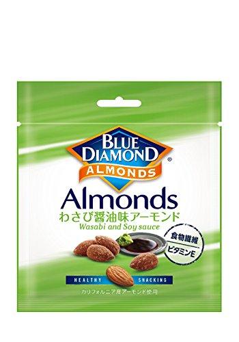 ブルーダイヤモンド わさび醤油アーモンド 20g×6袋