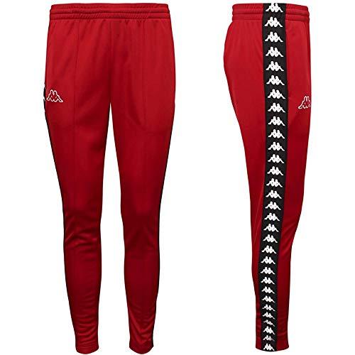 Kappa Pantalone 301EFS0-19-222 Banda Astoria Slim in Acetato C51-Red-Black-White, XXL