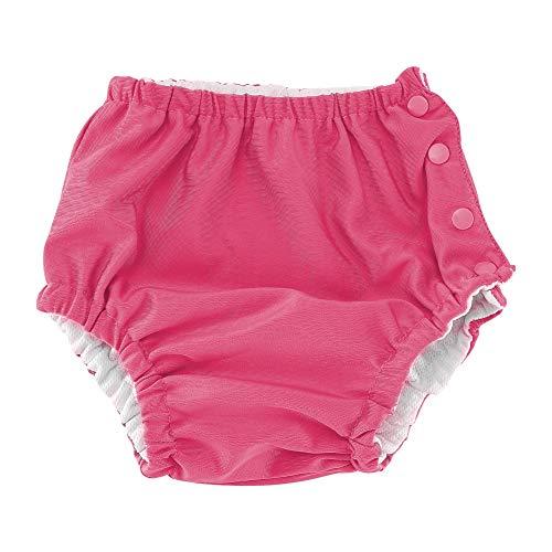 Baby herbruikbare zwemluier verstelbaar wasbaar badpak luier voor kleine kinderen meisjes jongens 70 roze