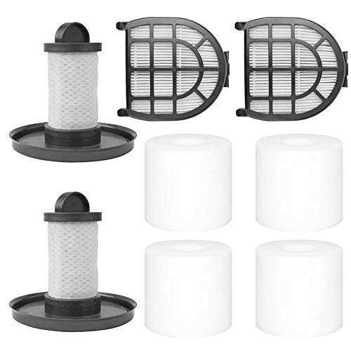 Iwinna 8 Pcs Foam Felt Filters, 1 Motor Filter Post Motor Filter for LZ600, LZ601, LZ602, LZ602C Apex Up Light Lift Away Vacuum Cleaner Compare to Part XFF600 XHF600