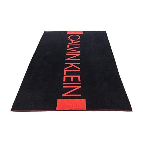 Calvin Klein Jeans Towel Telo Mare Uomo KU0KU00029 001 Black