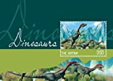 2014 Dinosaurs, Compsognathus, Collectible Souvenir Stamp, Mint Never Hinged