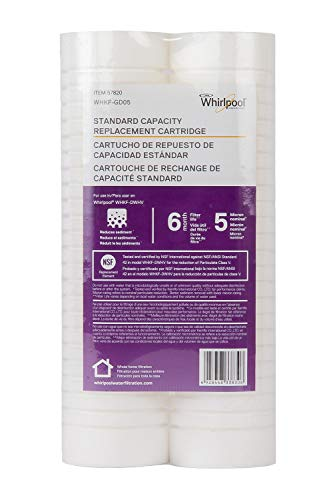 Kemflo WHKF-GD05 Standard Capacity Whole House Filtration Replacement Filter (2 Pack)