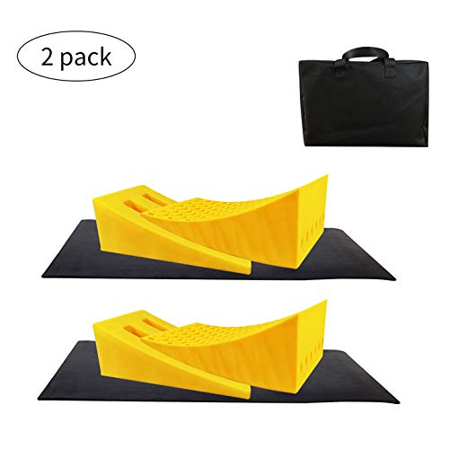 ROBLOCK Camper Leveling Blocks 2 Pack Kits Heavy Duty Leveler Blocks Works for 30,000 LBS RV, Trailer, Campers