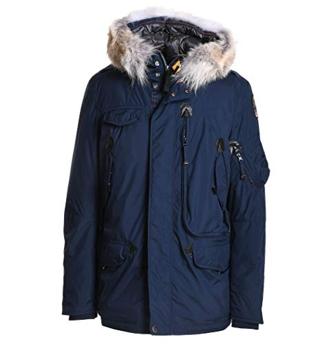 Luxury Fashion | Parajumpers Heren 18WMPMJCKMG02706 Donkerblauw Polyurethaan Outerwear Jassen | Herfst-winter 19