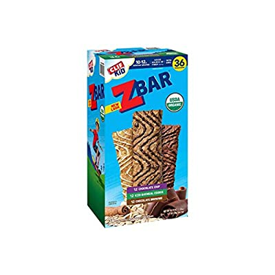 CLIF KID ZBAR - Organic Energy Bar - Variety Pack- 1.27 Ounce Snack Bar, 36 Count - Delivery Within 2-3 DAYS