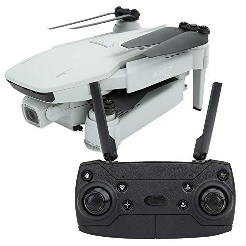 Fotocamera ad alta definizione pieghevole Drone Quadcopter per gli amanti del drone grandangolare fotocamera drone (grigio 5G 4K WIFI)
