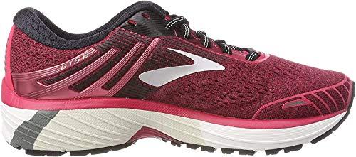 Brooks Adrenaline GTS 18, Zapatillas de Running para Mujer, Rosa (Pink/Black/White 1b619), 38 EU