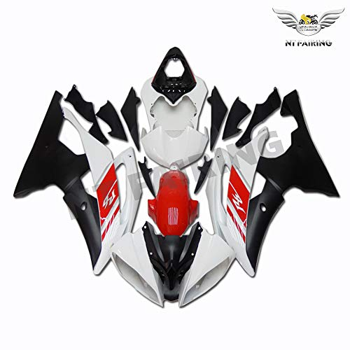 Complete Yellow White Black Fairing Fit for YAMAHA 2006 2007 YZF R6 Injection Mold ABS Plastics New Bodywork Bodyframe 06 07