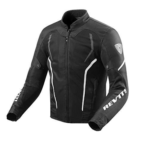 Revit GT-R Air 2 Motorcycle Jacket Black-white, XXL