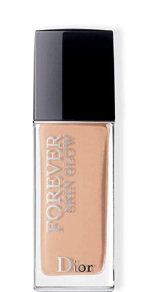 バッジ急勾配のそうクリスチャンディオール Dior Forever Skin Glow 24H Wear High Perfection Foundation SPF 35 - # 2WP (Warm Peach) 30ml/1oz並行輸入品