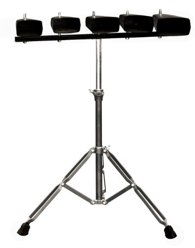 Kalos by Cecilio KP_CB-5P 5-Set of Cowbell with Stand