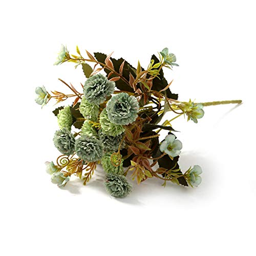 Desconocido Super1798 - Ramo de Flores Artificiales de claveles para decoración del hogar o la Oficina