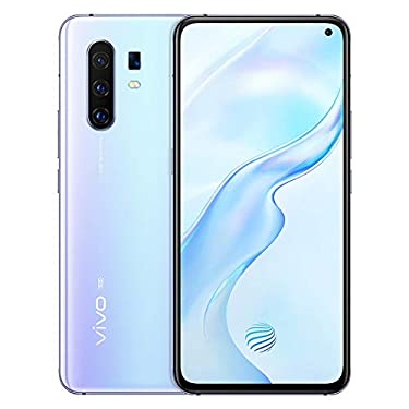 Original X30 Pro(V I V O) 5G Mobile 8G+128GB 60x Zoom 6.44 inch HDR Exynos 980 Octa-core Android 9.0 64.0MP Quad Cameras 4350mAh Smartphone Support Google by-(Real Star Technology) (Silver 8G+128GB)