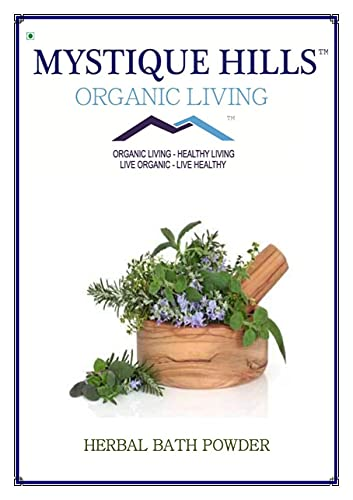 Bluenile Mystique Hills Organic Herbal Bath Powder, 400 g