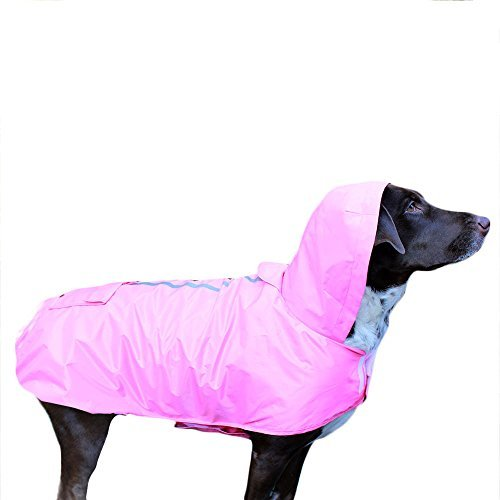 Frencie Mini Couture Impermeable para perro - Rosa