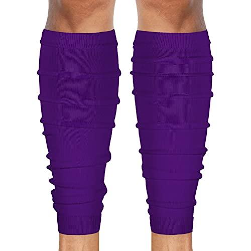 SLEEFS Hue Purple Football Leg Sleeves