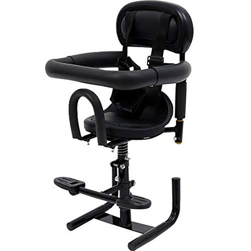Bdclr Elektro-Motorroller Kindersitz Batterie Auto Elektro Moped Baby-Sicherheitssitz vorne Baby Kindersitz,Schwarz