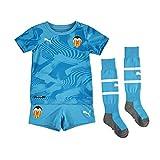 PUMA 2019-2020 Valencia Third Little Boys Mini Kit, Unisex niños, azul, 1 a 2 años