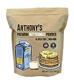 Anthony's Premium Buttermilk Powder, 1.5 lb, Gluten Free, Non GMO, Made in USA, Keto Friendly, Hormone Free