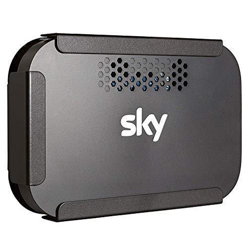 Sky Q WiFi Hub Wireless Internet Router Wall Bracket Mount (Black) - Made...