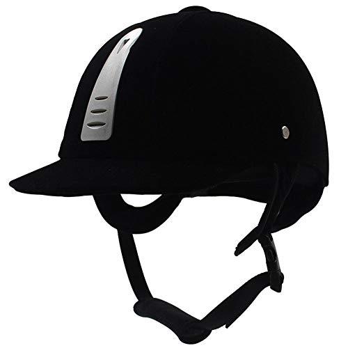 Haodene Bombe - Casco de equitación, color negro