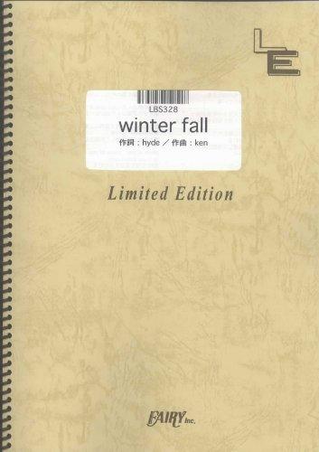 バンドスコア winter fall/ラルク・アン・シエル (LBS328)[オンデマンド楽譜]