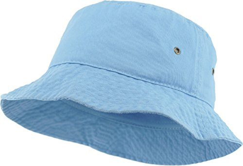 KBM-500 Sky S/M Travel Packable Summer Unisex Bucket Hat for Women and Men
