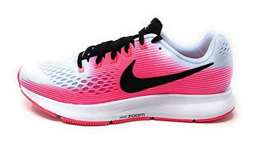 Nike Womens Air Zoom Pegasus 34 Half Blue/Black-Hyper Pink Running Shoes Size 8.5 US