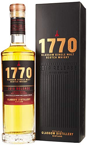 1770 Glasgow Single Malt Scotch Release 2019 Whisky (1 x 0.5 l)