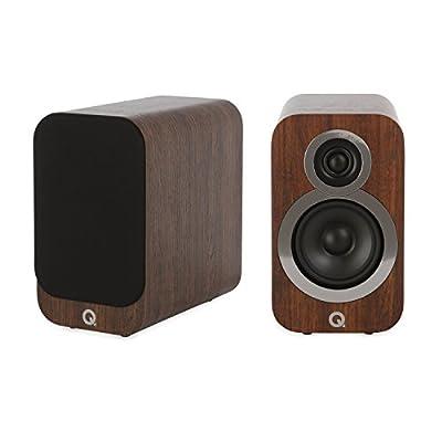 Q Acoustics 3010i Compact Bookshelf Speakers (Pair) (English Walnut) from Q Acoustics