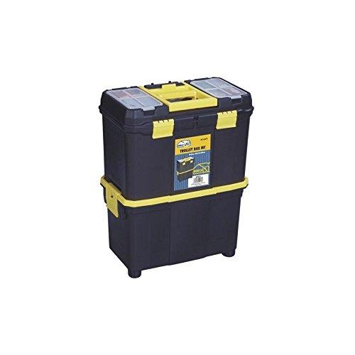 Trolley Box 58 x 27 x 45 Profi-Werkzeugkoffer mit Tablett