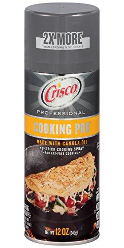 Crisco Professional Oil Spray, Cooking Pro, 12 Ounce, 12oz