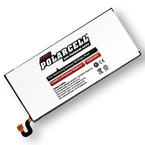 Polarcell Akku Für Samsung Galaxy S6 Edge Plus Sm-G928F/Eb-Bg928Abe (3200Mah/12,32Wh)